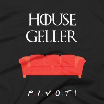 House Geller - Friends T-Shirt 4