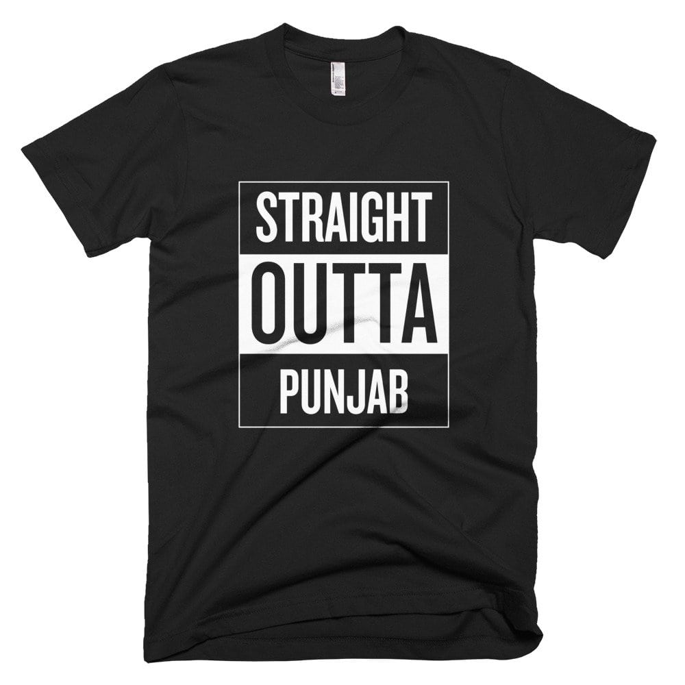 Straight Outta Punjab T-Shirt 1